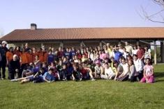 Excursión de los alumnos de 6.º de primaria por la Bardena